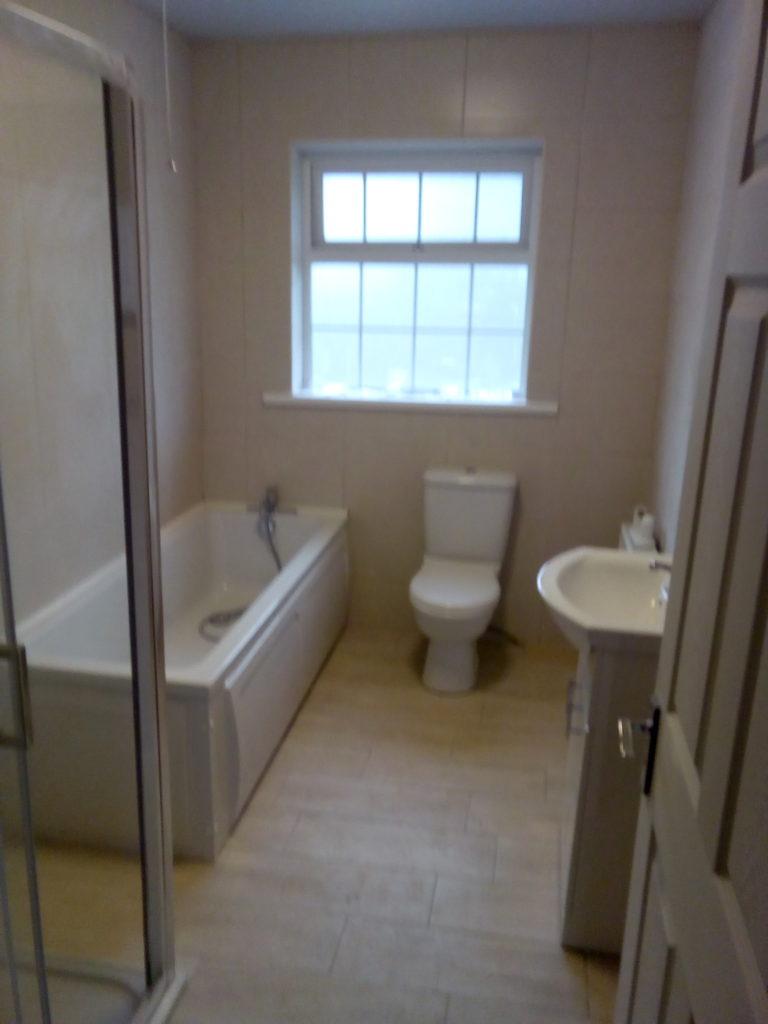 New bathroom in Oranmore, Galway