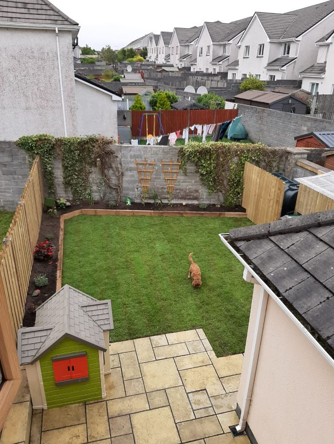 Garden transformation in Knocknacarra