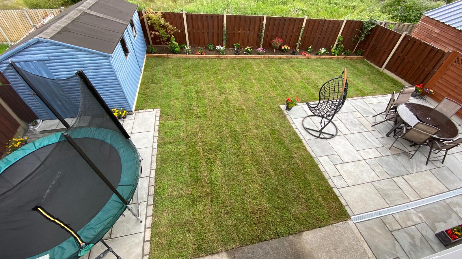 Garden transformation in Oranmore. After